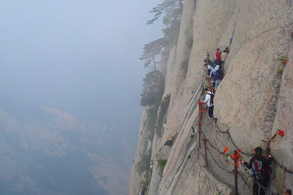 Shiyan China  city pictures gallery : Mountain Climbing in Hua Shan in China :Adventure