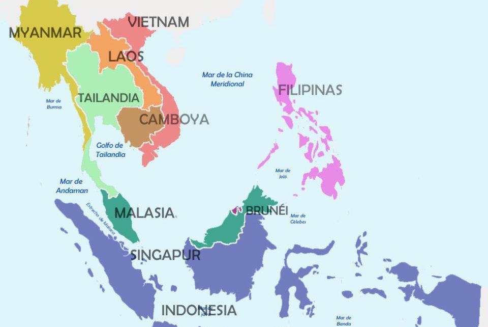 Países del Sudeste Asiático