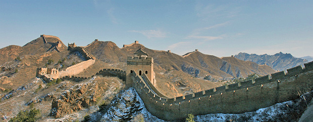 La opinion de Iker sobre las pirámides. Muralla-China