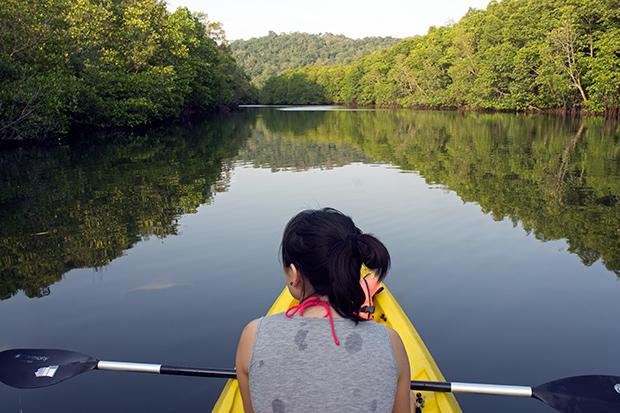 Kayaking-en-Koh-Kood