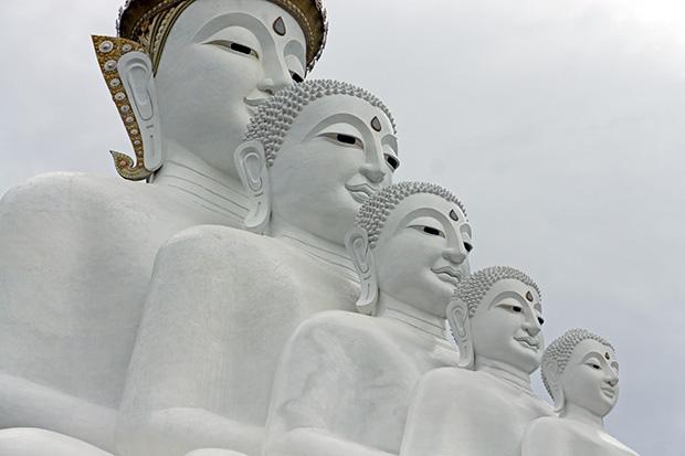 Budas-de-Wat-Pha-Sorn-Kaew