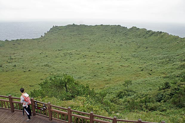 Crater-de-Seongsan-Ilchulbong