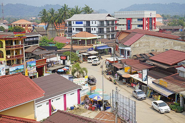 Pueblo de Vang Vieng