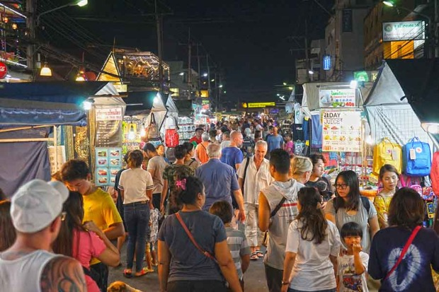 Night Market en Hua Hin