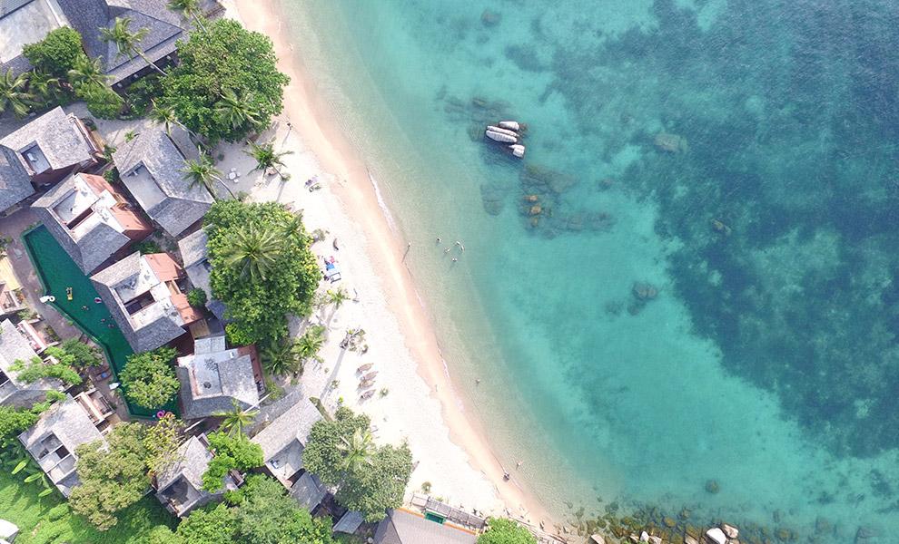 playa en la isla de Koh Tao