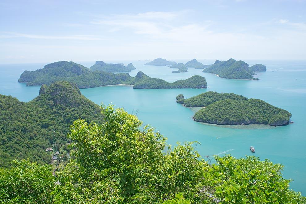 Islas del Parque de Ang Thong